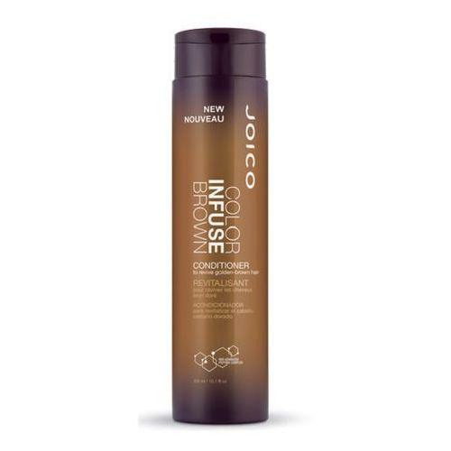 color infuse brown | odżywka podkreślająca kolor włosów brązowych - 300ml marki Joico