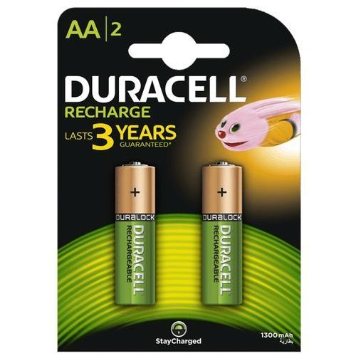 recharge aa 1300 mah akumulatorki 2szt (blister), marki Duracell