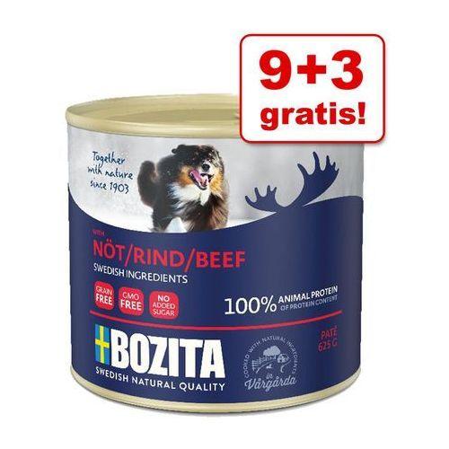 Bozita 9 + 3 gratis! pakiet pate, 12 x 625 g - łosoś| darmowa dostawa od 89 zł i super promocje od zooplus!| -5% rabat dla nowych klientów (7300330051646)