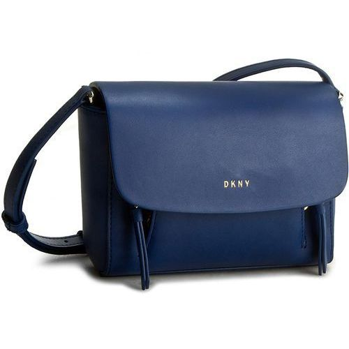 Torebka - greenwich smooth cal r461020201 bright lapis 430 marki Dkny