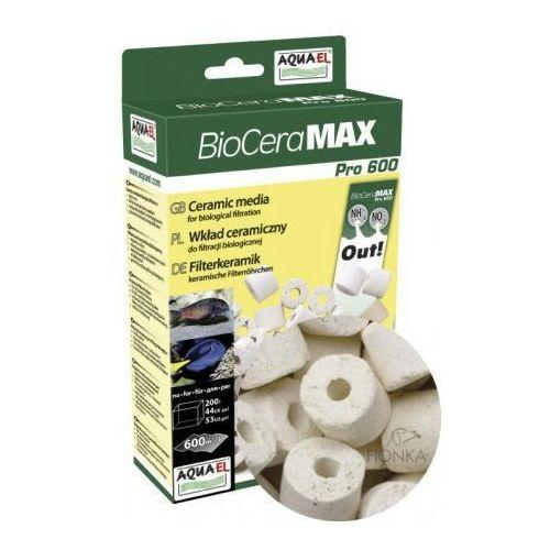 biocera max pro 600 wkład do filtrów dla filtracji biologicznej 1l marki Aquael