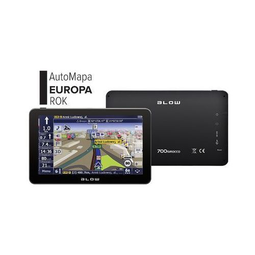 GPS700 Sirocco marki Blow - nawigacja samochodowa