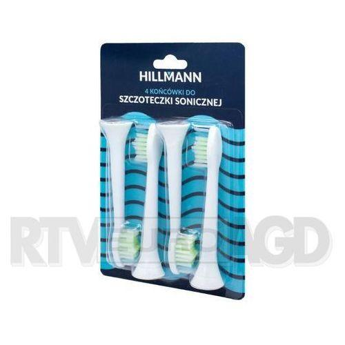 Hillmann końcówki do szczoteczki sonicznej - 4 sztuki