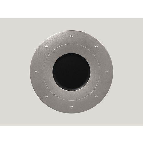 Talerz płaski zdobiony 310 mm, srebrny | , metalfusion marki Rak