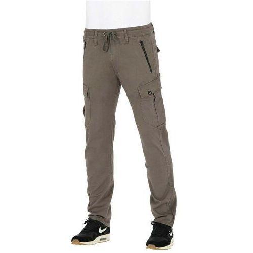 spodnie REELL - Cargo Tech Pant Flex Grey Brown (FLEX GREY BROWN) rozmiar: M normal, kolor brązowy