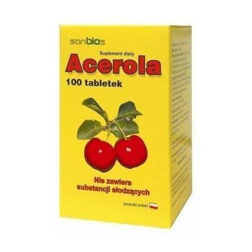 Sanbios Acerola x 100 tabletek