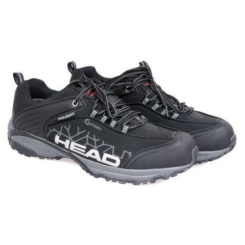 Czarne trekkingi męskie  xx-109-23-14 black 42 czarny marki Head