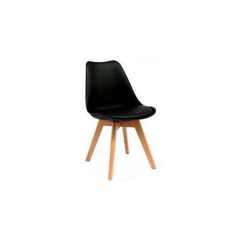 """Krzesło """"Elia"""" - z bukowymi nogami, kolor czarny"""