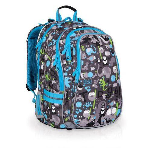 Plecak szkolny chi 701 c - grey marki Topgal