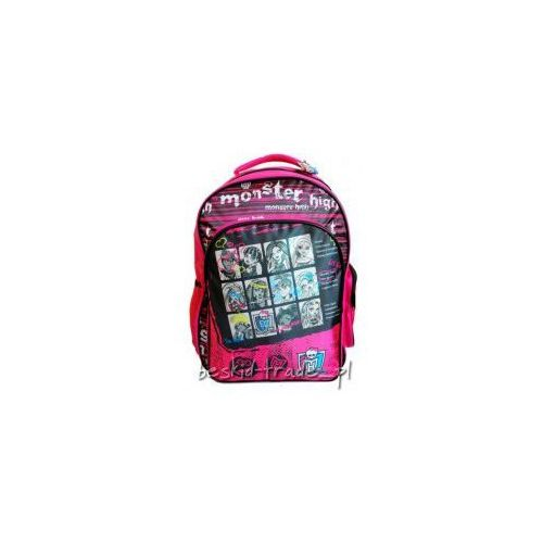 Plecak szkolny MONSTER HIGH Paso 22731PSM + GRATIS, E50C-852A5