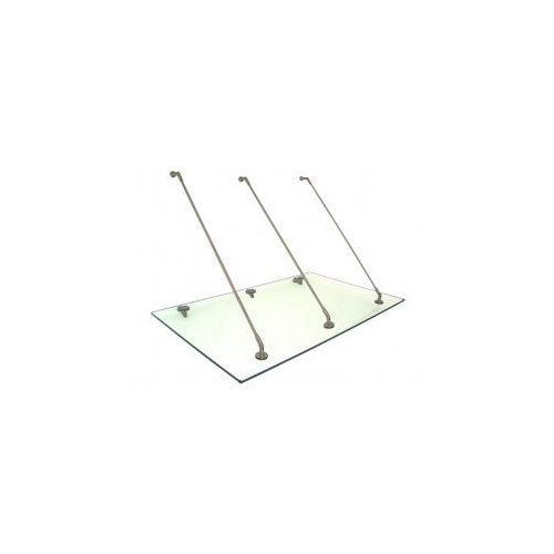 OKAZJA - Daszek zadaszenie szklane drzwi 200 x 90 marki Metal-gum