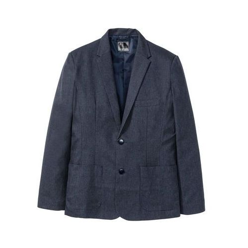 2126dec9a4150 Info · Marynarka Slim Fit bonprix ciemnoniebieski, kolor niebieski