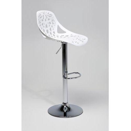 KARE Design:: Hoker Ornament White - Kare design:: Bar Stool Ornament White ||srebrny