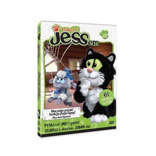 Film CASS FILM Zgaduj z Jessem: Dlaczego pająki budują pajęczyny - produkt z kategorii- Filmy animowane