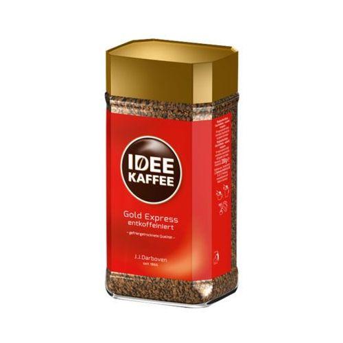 J.J. DARBOVEN 200g IDEE Kaffe Bezkofeinowa Gold Express Kawa rozpuszczalna