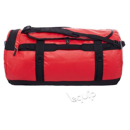 Torba podróżna base camp duffel l ii - red/black marki The north face