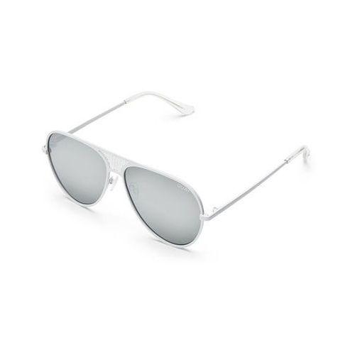Quay australia Okulary słoneczne qc-000217 quayxkylie iconic wht/slv