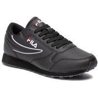 Sneakersy FILA - Orbit Low 1010263.12V Black/Black, w 8 rozmiarach