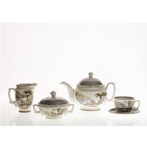 Pickman serwis do herbaty imperio atenea 27 el dla 12 os marki La cartuja de sevilla