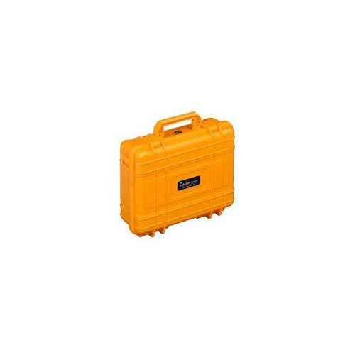 BW Kufer transportowy typ 61 RPD pomarańczowy, z przegrodami