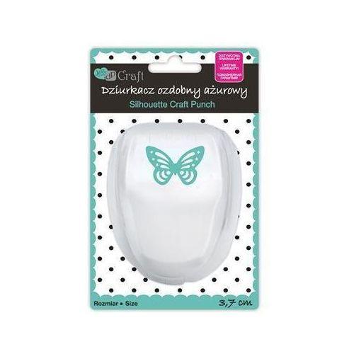 Dziurkacz ozdobny ażurowy 3,7 cm - motyl - motyl marki Dalprint