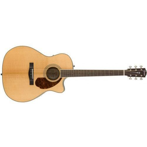 Fender PM-4CE Auditorium Limited, Ovangkol Fingerboard, Natural w/case gitara elektroakustyczna