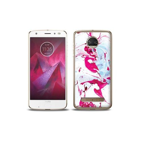 etuo Fantastic Case - Motorola Moto G6 Play - etui na telefon Fantastic Case - różowy marmur, ETMT716FNTCFC030000