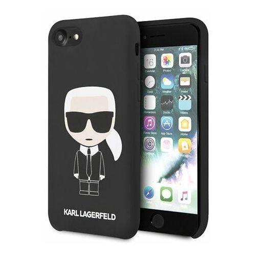 Karl lagerfeld Obudowa dla telefonów komórkowych full body pro apple iphone 7/8 (klhci8slfkbk) czarny