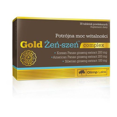 OLIMP Gold Żeń-szeń complex 30 tabletek (5901330043505)