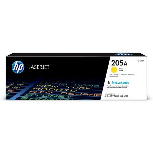 HP 205A oryginalny wkład z żółtym tonerem LaserJet (CF532A) - KURIER UPS 14PLN, Paczkomaty, Poczta