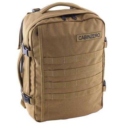 Cabinzero military 28l torba podróżna podręczna / kabinowa / plecak / brązowy - desert sand (5060368841399)