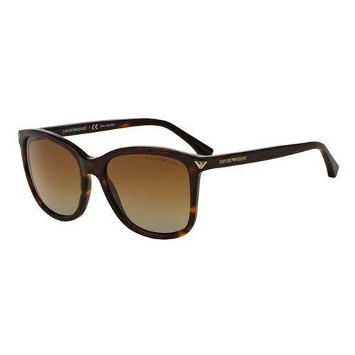 Emporio armani Okulary słoneczne ea4060f asian fit polarized 5026t5