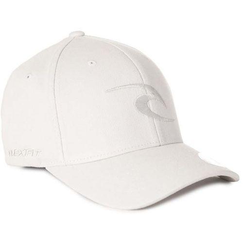 czapka z daszkiem RIP CURL - Tepan Curve Peak Cap Light Grey (1201), kolor szary