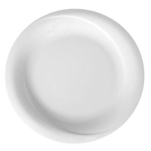 Fine dine Talerz płytki porcelanowy śr. 25 cm gourmet