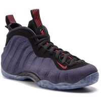 Buty NIKE - Air Foamposite One 314996 404 Obsidian/Black/University Red, kolor niebieski