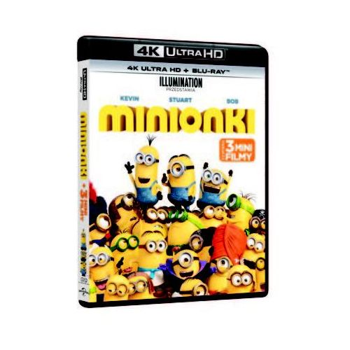 Minionki 4K (2BD)