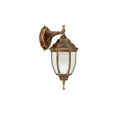Kinkiet lampa oprawa ścienna zewnętrzna Rabalux Nizza 1x60W E27 IP43 antyczne złoto 8451