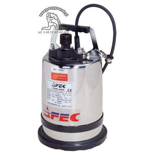 """Fsr 400 -1'' pompa z kołnierzem umożliwiającym odwadnianie """"do sucha"""" - zamiana na proril smart base 1"""" marki Afec"""