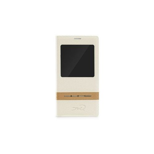 #Etui tel.kom.eXc CROCO FIT do Samsung Note 3,Kremowe