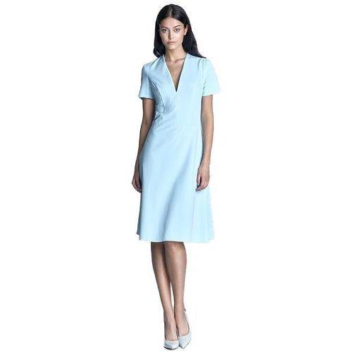 Sukienka - błękit - s71 marki Nife