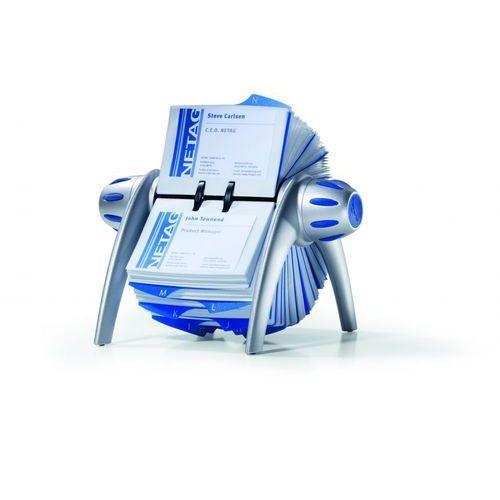 Durable Wizytownik obrotowy visifix 2417, srebrny