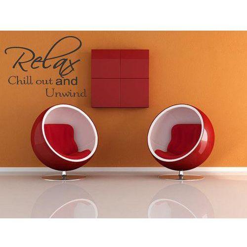 Naklejka dekoracyjna na ściane Relax and Chill Out (5903181041891)
