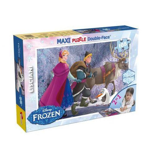 Liscianigiochi Frozen puzzle dwustronne maxi 108 (46898) (8008324046898)