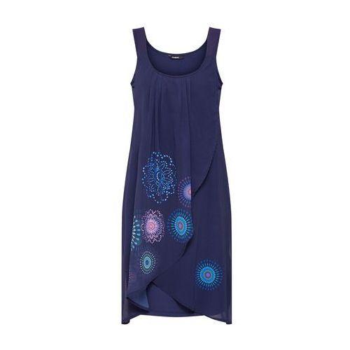 Desigual Sukienka 'Vest_Graciela' granatowy / mieszane kolory, w 6 rozmiarach