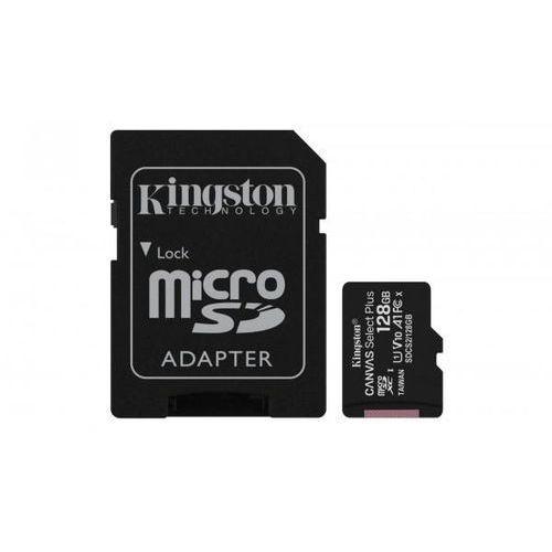 microsdxc 128gb 100mb/s sdcs2/128gb marki Kingston