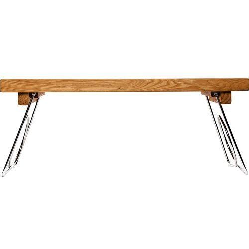 Sagaform Stolik śniadaniowy z metalowymi, składanymi nogami oak (sf-5016119) (7394150161197)