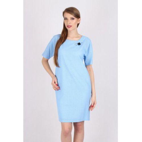 Sukienka wizytowa model 793 Blue, kolor niebieski