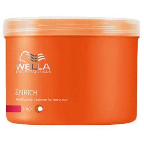 Wella professionals Wella enrich moisturising treatment for coarse hair maska nawilżająca do włosów grubych (500 ml)