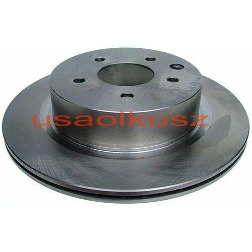 Pro fusion Tylna wentylowana tarcza hamulcowa 308mm nissan 350z 2006-2009