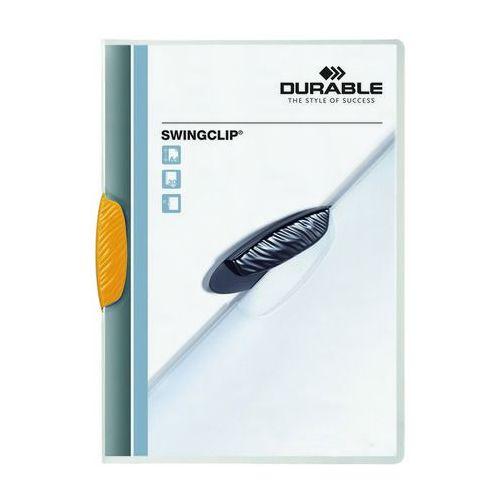 Skoroszyt zaciskowy swingclip żółty a4/30k. marki Durable